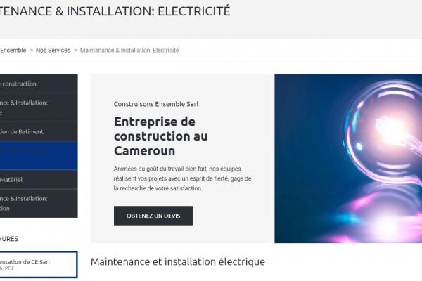 Maintenance & Installation_ Electricité